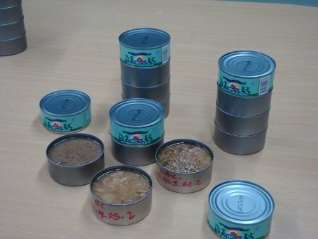 canned tuna  in oil or watter from Ecuador
