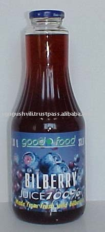 Organic Bilberry Juice 100% Natural