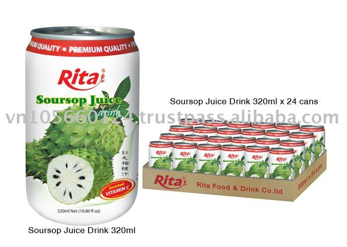 Soursop Natural Fruit Juice