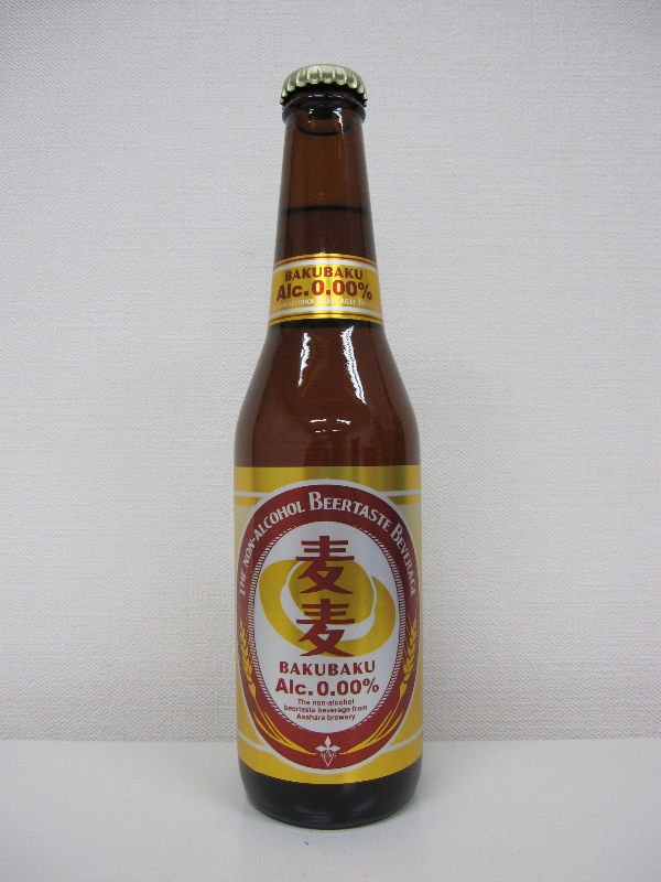 """BAKUBAKU"" Non Alcoholic Beer Taste Beverage 330ml"
