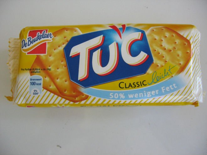 LU Tuc Salted Biscuit product of Kraft Foods