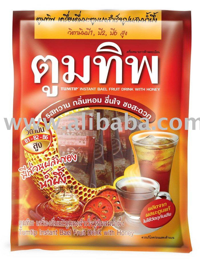 TUMTIP Instant Bael Fruit Drink with Honey