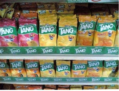tang powder juice drink