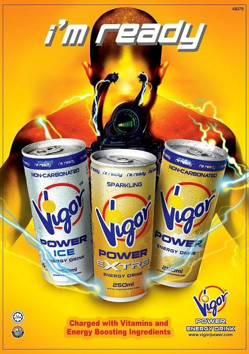 Vigor Power energy drink