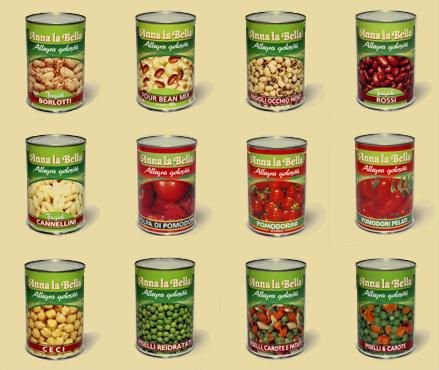 Italy - Canned Tomatoes and Canned Vegetables (2011185)