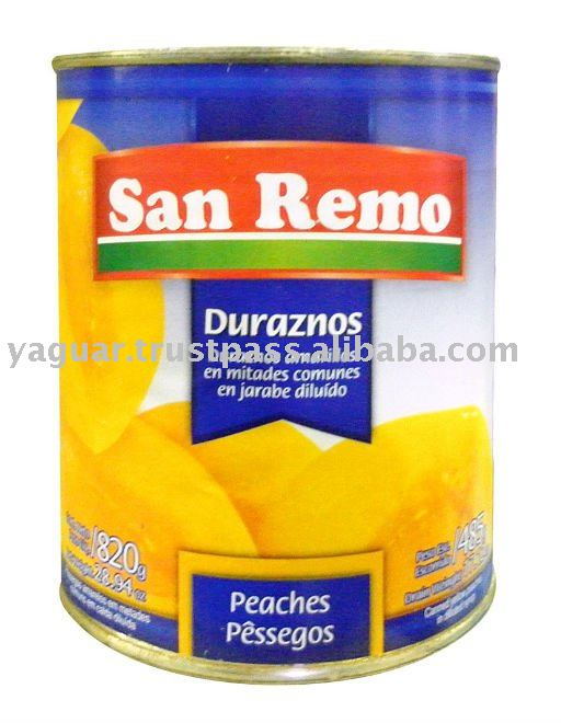 SAN REMO yellow peaches