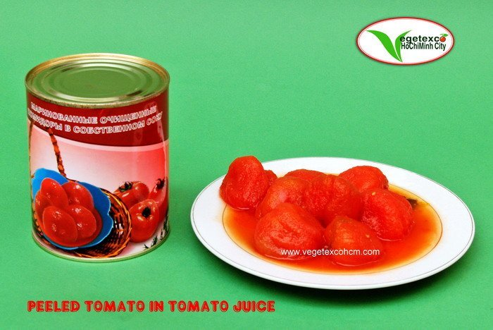 CANNED PEELED TOMATO IN TOMATO JUICE