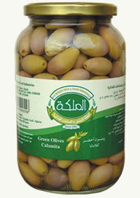 Green Kalamata olives