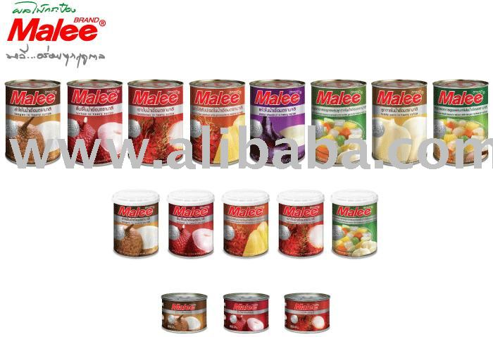 Malee Canned Fruits