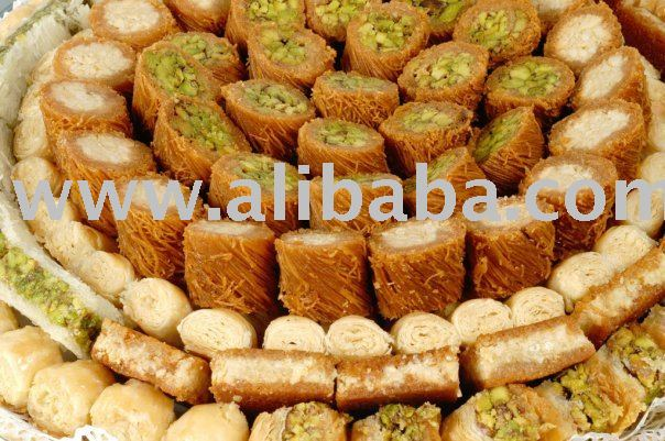 Baklava baklawa lebanese sweets products morocco baklava for Arabic cuisine names