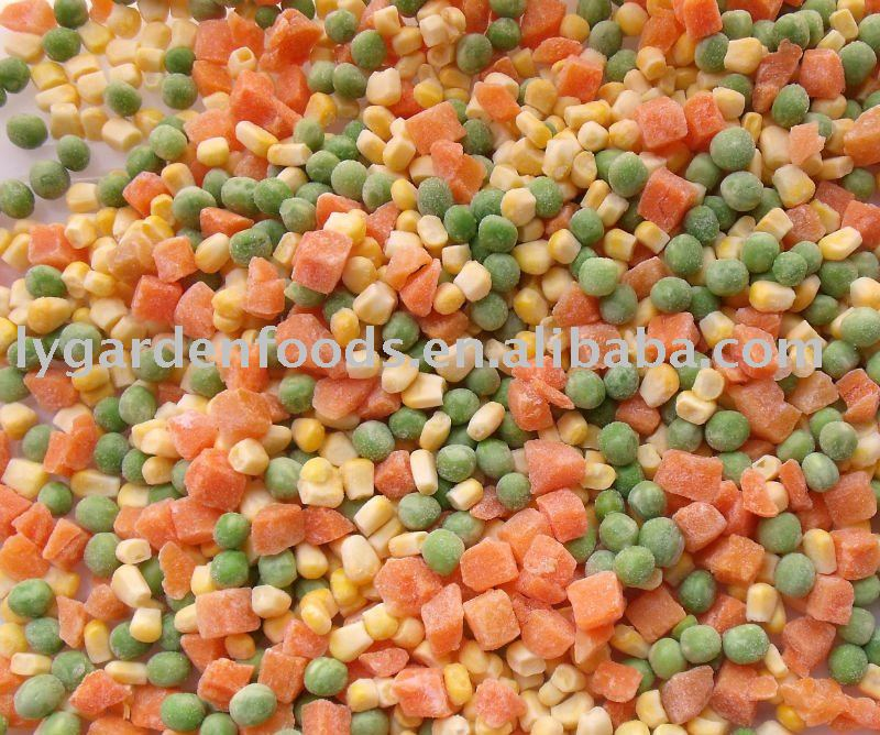 IQF mixed vegetable new crop