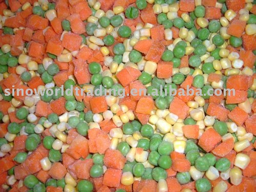 Frozen mixed vegetables new crop