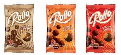 Rollo cocoa glazed cereals