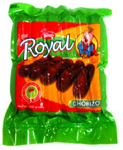 SAUSAGES--Royal Chorizo