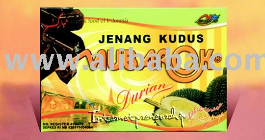 Jenang Kudus Mubarok with Flavors: Durians (Indonesian Traditional Soft Cake)