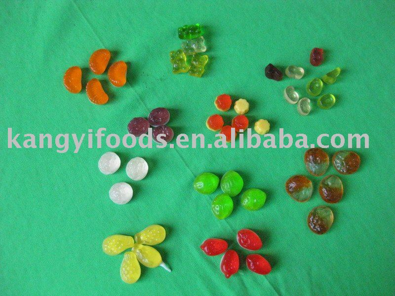 Gummy-- fruit shape gummy candy