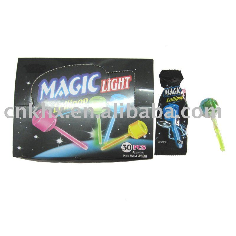 Magic light lollipop