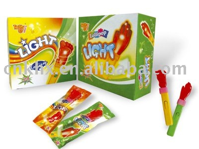 Light lollipop
