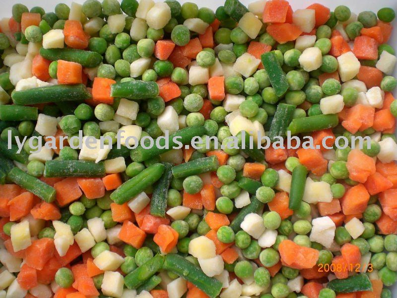 mixed vegetables new crops