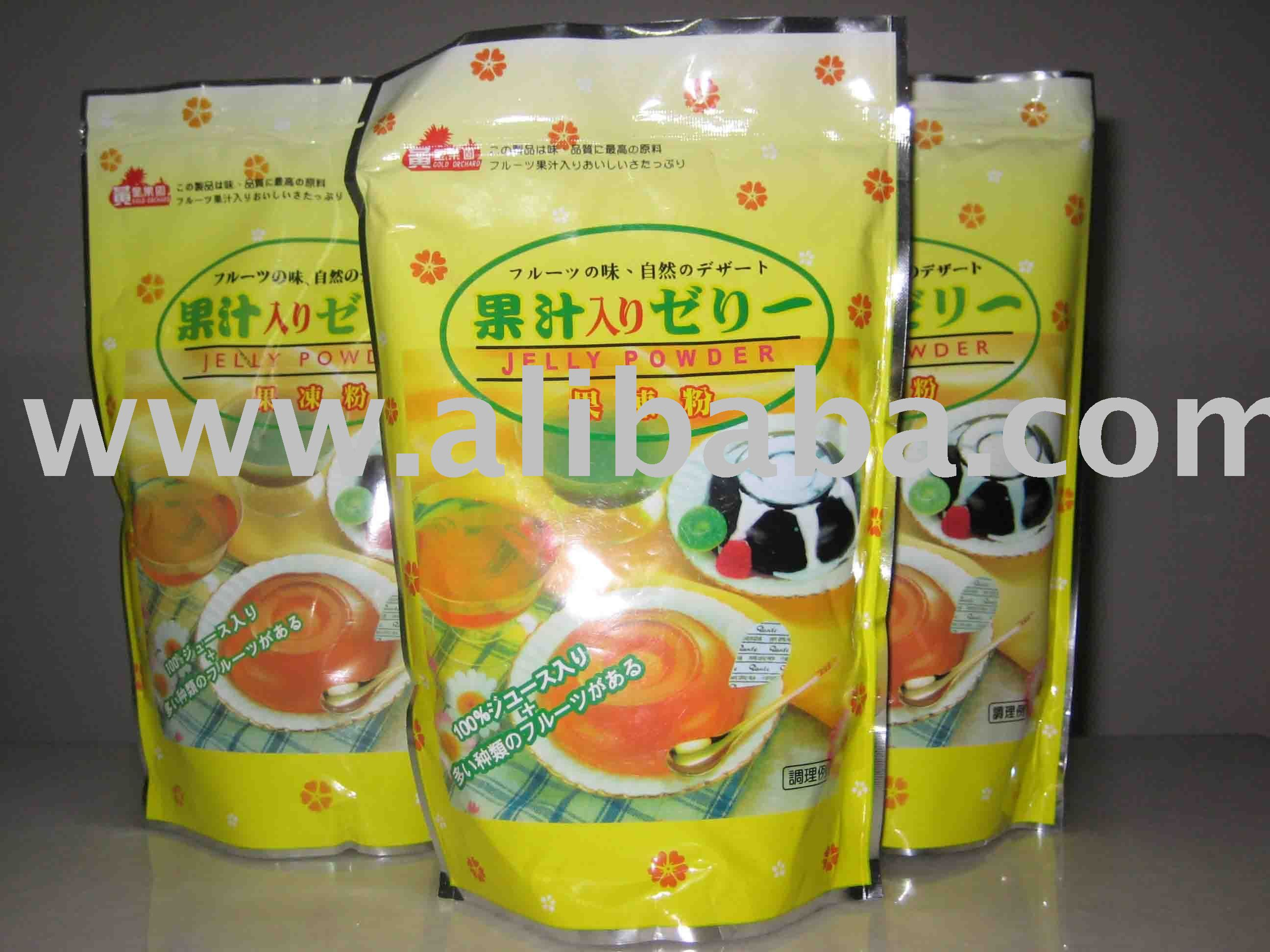 Fruit jelly powder