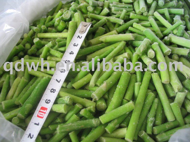Frozen green asparagus cuts products,China Frozen green asparagus cuts ...