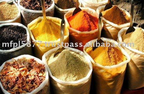 ALL TYPE OF SPICES,GRAM FLOUR AND GRAM DALL