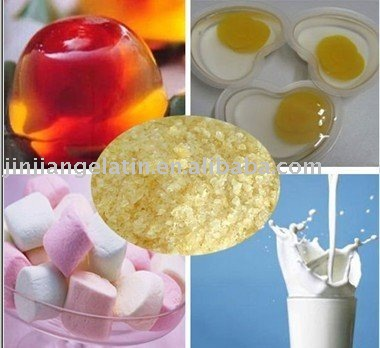 edible gelatin, food gelatin for ice cream or candy or can. gelatin for food supplement