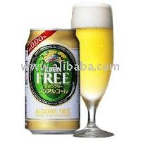 KIRIN FREE non alcoholic beer from Japan
