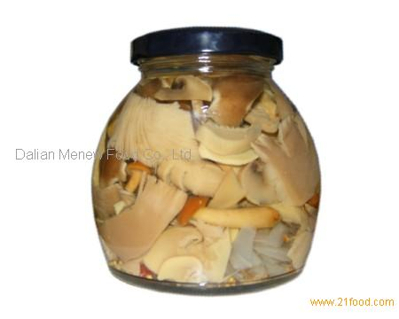 CANNED MARINATED MIXED MUSHROOM 270ML