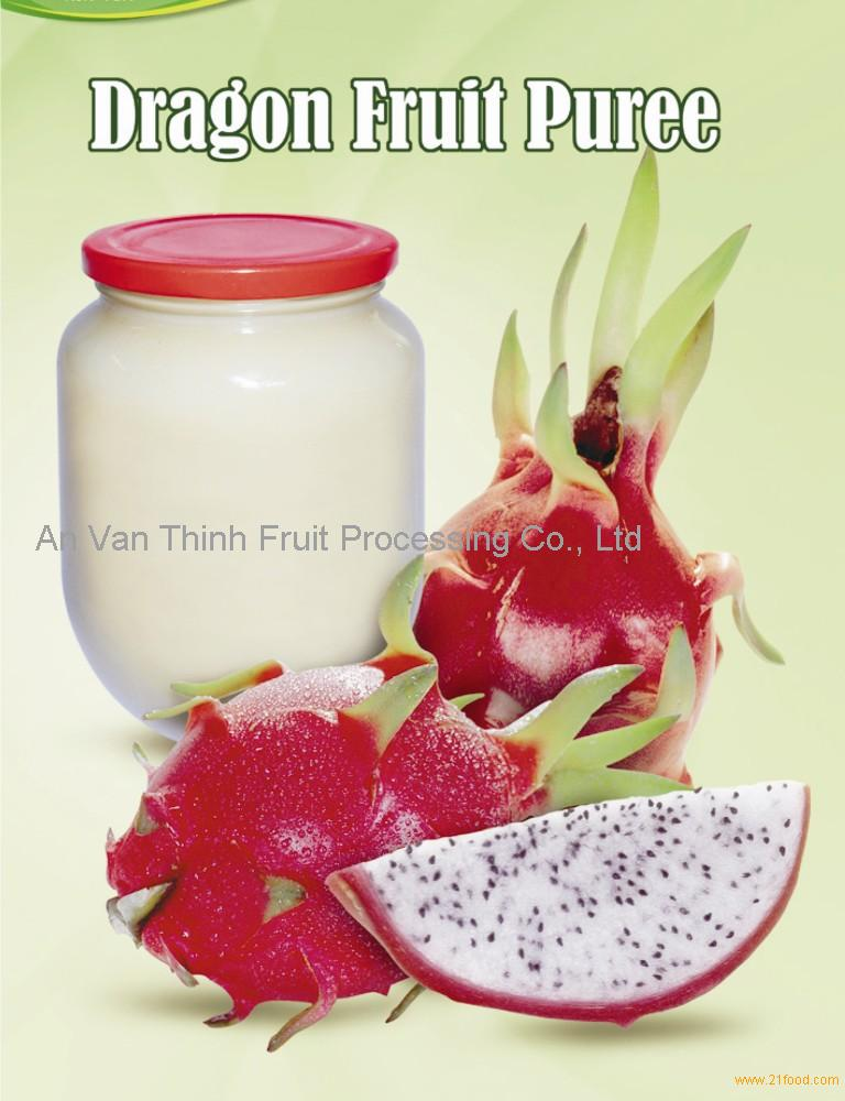 passion fruit puree what is dragon fruit