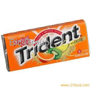 Trident Chewing Gum Dubai ( Middle East)
