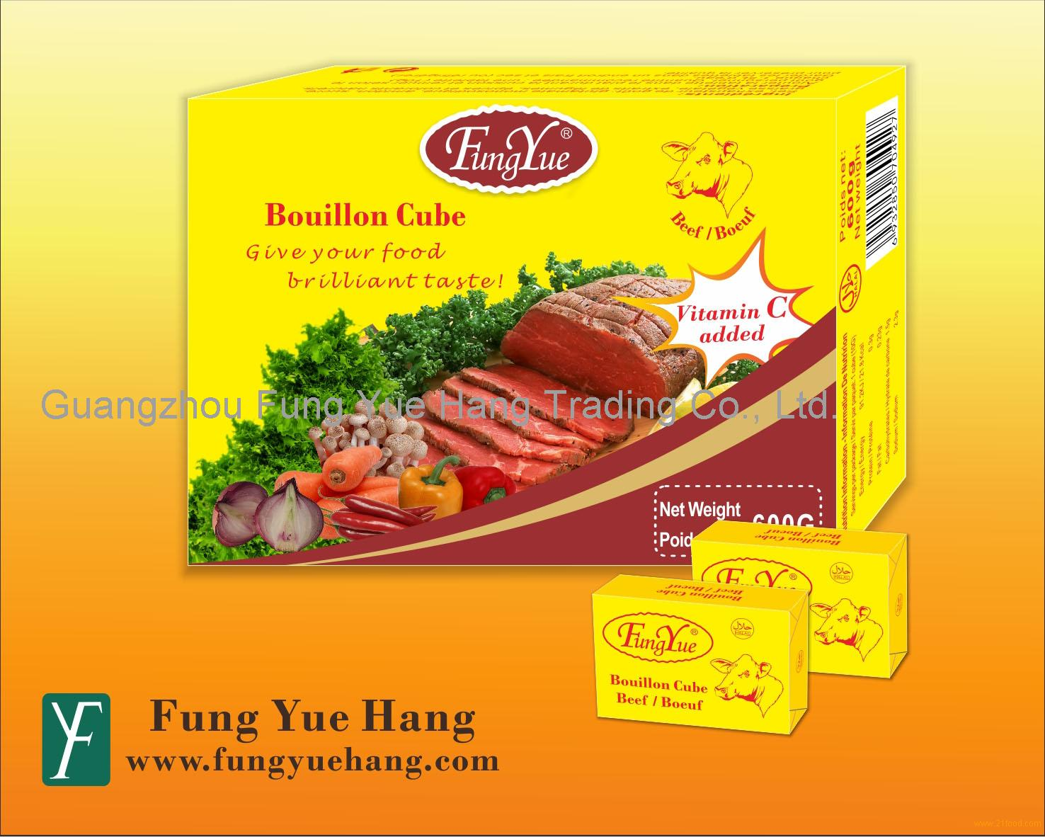 10g Beef Powder Flavor Halal Seasoning Cube
