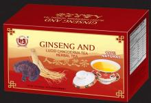 Ginseng and Lucid Ganoderma Tea