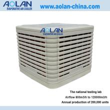 Airflow 16000m3/h down discharge evaproative air cooler
