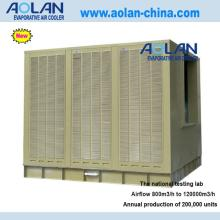 Airflow 80000m3/h evaporative air cooler