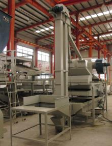 Pumpkin seed cleaning grading hulling & separating equipment, dehulling machine