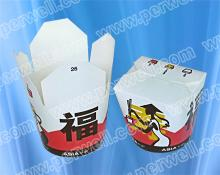 Chinese food take away boxes