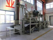 Sunflower seed hulling line, hulling & separating equipment