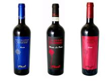 Italy medium dry red wine