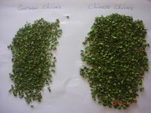 Dehydrated chives 3-3mm