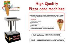 cone pizza machine