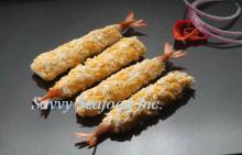 Frozen vannamei breaded torpedo shrimp (BT)