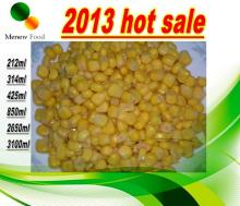 Vacuum Packed Canned Sweet Corn kernels 425ml from new crop