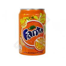 Fanta Soft Drink 330ml Can