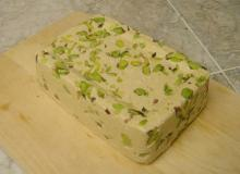 Iranian Halva (halwa) With Pistachio And Sesame,halva tahini plain