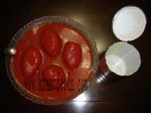 canned whole peeled tomato