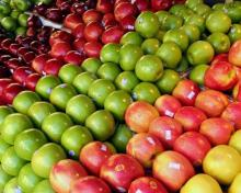 Green Apples , Red Delicious apples , Fuji Apples