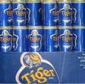 Tiger beer 330ml canned, 1x24 cans/case