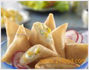 Corn & Cheese Cocktail Samosa