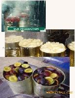 pasteurised fruits